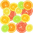Background with citric fruits — Stock Photo