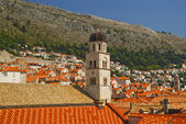 View over the rooftops of Dubrovnik — Stock Photo