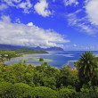 Kaneohe bay on the island of oahu, hawaii — Stock Photo