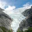 Stock Photo: Glacier Briksdale in Norway, Europe