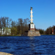 Chesme Column in park in Tsarskoye Selo, Russia — Stock Photo