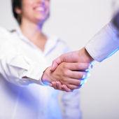 Handshake Handshaking — Stock Photo