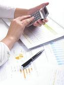 Analysera affärsdata — Stockfoto