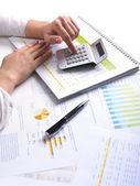 Business Data Analyzing — Stock Photo