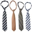 Four ties - Stock Photo