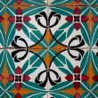 Stock Photo: Vintage spanish style ceramic tiles