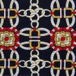 Stock Photo: Abstract pattern ornamented textile