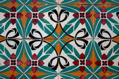 Vintage spanish style ceramic tiles — Stock Photo