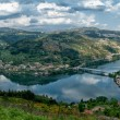Stock Photo: Douro Valley - Town Oliveirdo Douro