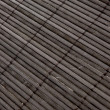 Background - volumetric Japanese reed mat — Stock Photo