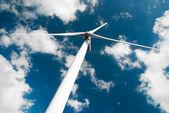Wind turbine lage hoek — Stockfoto