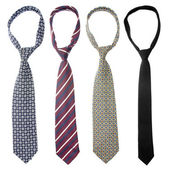 Tie set — Stock Photo