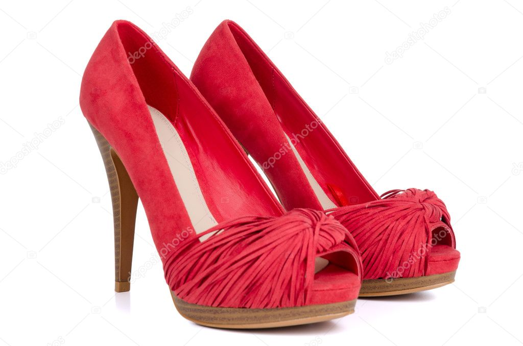 Red High Heel Shoes For Women