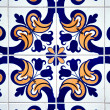 Vintage spanish style ceramic tiles — Stock Photo #5914703