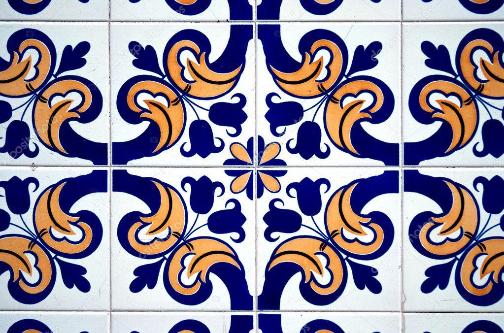 vintage spanish style ceramic tiles stock photo homydesign 5914703. Black Bedroom Furniture Sets. Home Design Ideas