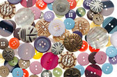 Assorted buttons — Stock Photo