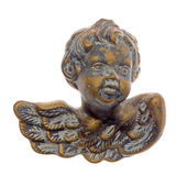 Old decorative angel — 图库照片