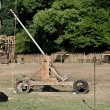 Medieval catapult - Stock Photo