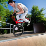 Постер, плакат: BMX Bike Stunt