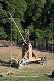 Medieval catapult — Stock Photo