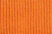 Oranje wollen doek — Stockfoto