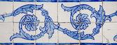 观赏老典型瓷砖 — 图库照片