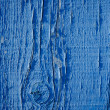 Stock Photo: Blue paint on wood background