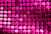 Bright pink paillette — Stock Photo