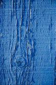 Blue paint on wood background — Stock Photo