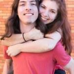 Teenage Couple — Stock Photo #5431314