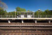 Railroad Platform — Stock Photo