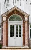 Greenhouse Door — Stock Photo