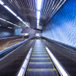 NYC Subway Escalator - Stock Photo