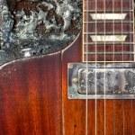 Grungy Guitar — Stock Photo