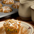Apple Spice Muffins — Stock Photo