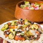 ������, ������: Zucchini Chicken and Rice