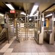 NYC Subway Turnstile — Stock Photo