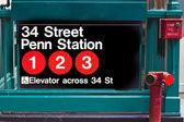 Nyc metro — Stock fotografie