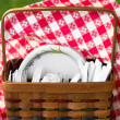 Picnic Basket — Photo