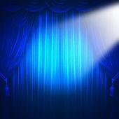 Theater rampenlicht — Stockfoto