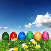 Post Cards - Happy Easter — Stock Photo