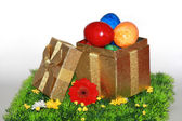 Gifts for Easter — Stock Photo
