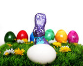 Colorful Easter decoration — Stock Photo