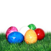 Many Easter eggs — Stock Photo