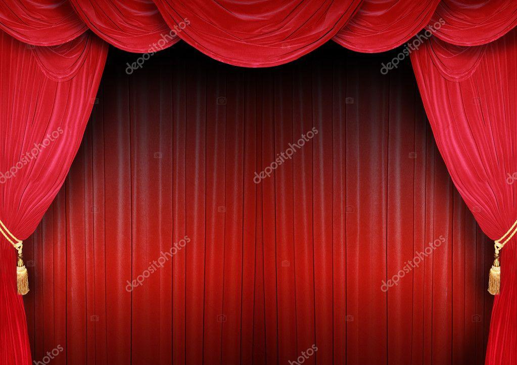 D cor de la sc ne dun th tre photographie photochecker for Decor de theatre