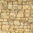 Texture of ancient stone wall — Stock Photo
