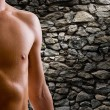 Shoulder and arm naked male body — Stock Photo #6742810