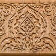 Stock Photo: Art of wood carving.