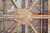 Rusty metal structure — Stock Photo