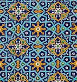 Oriental pattern on tiles — Foto de Stock